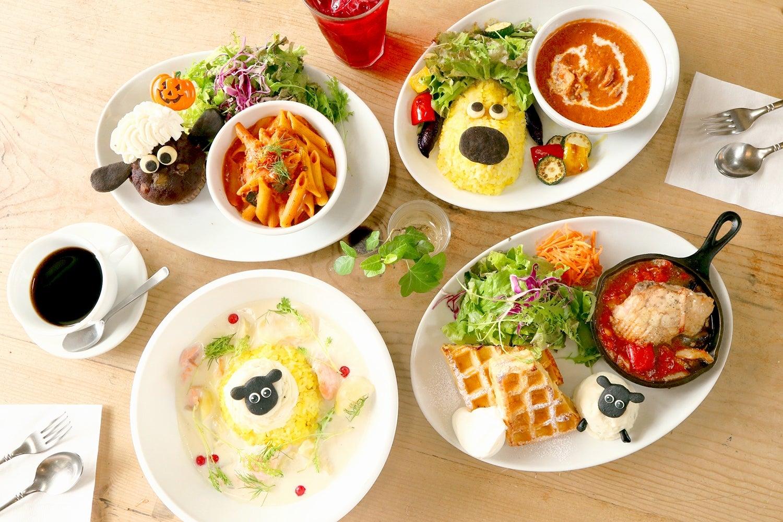 「ひつじのショーンカフェ」東京・吉祥寺に誕生 フォトジェニックなメニュー&限定グッズが可愛すぎ