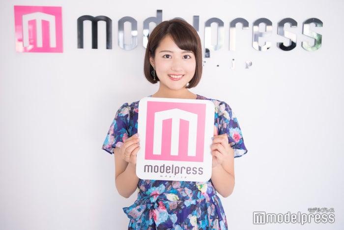 永尾亜子アナウンサー(C)モデルプレス