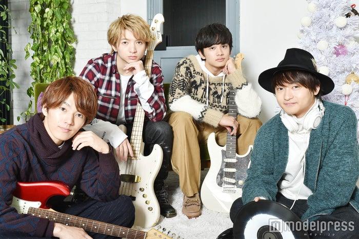 モデルプレスのインタビューに応じたDISH//(左から)MASAKI、RYUJI、TAKUMI、To-i (C)モデルプレス