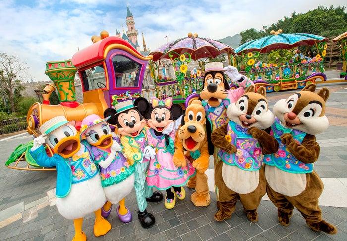 香港ディズニーランド、春のイベントが可愛い!見どころ&おすすめポイント4つを紹介(C)Disney