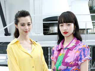 小松菜奈・中条あやみ、パリで美麗2ショット 「CHANEL」フロントロウゲストで来場