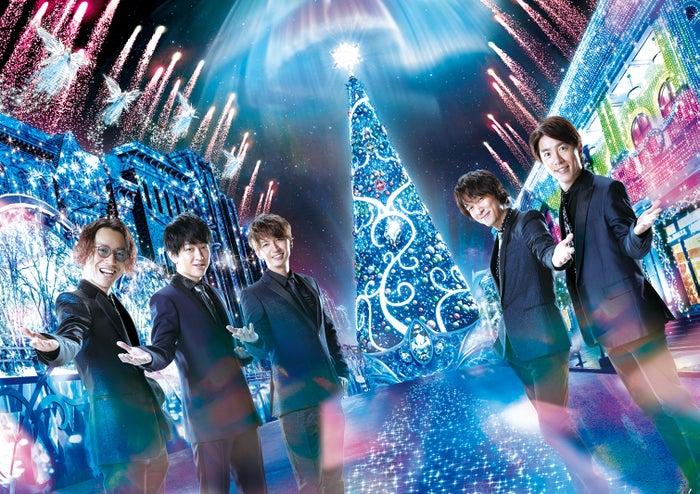 「クリスタル・クリスマス・アンバサダー」に就任する関ジャニ∞/画像提供:ユニバーサル・スタジオ・ジャパン