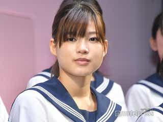 E-girls石井杏奈「チア☆ダン」重要シーン撮影終え「涙がとまらなかった」
