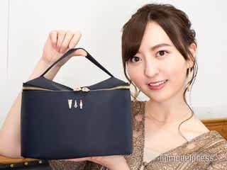 <HKT48森保まどか・私物コスメポーチの中身全公開>メンバーも愛用する神コンシーラー、「欠かせない」オトナ色リップとは?