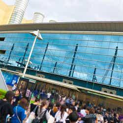 「TGC KITAKYUSHU 2018 by TOKYO GIRLS COLLECTION」台風25号の影響で開催が危ぶまれたが無事に開催(C)モデルプレス
