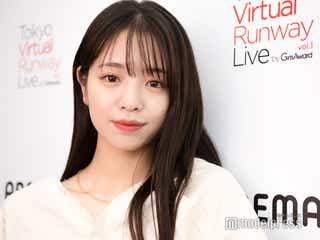 """横田真悠、""""先輩""""藤井サチのサチトレ実践 YouTube開設で新たな目標も<「Tokyo Virtual Runway Live by GirlsAward」フィッティングに潜入>"""