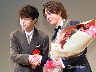 中村倫也を菅田将暉がサプライズ祝福「自分の意志で来ました」<エランドール賞>