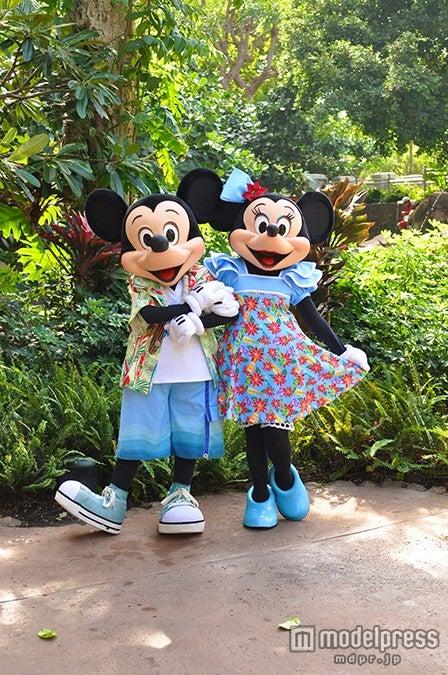 アウラニのミッキー&ミニー(C)Disney