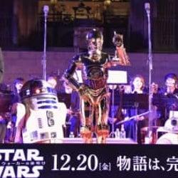 『スター・ウォーズ』奈良・東大寺コンサート開催!名曲メドレーにドロイドたちご機嫌