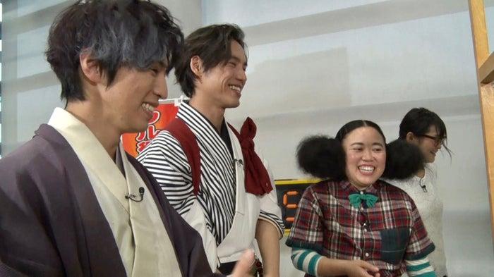 桐山漣、福士蒼汰、ニッチェ江上(C)日本テレビ