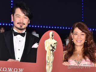 LiLiCo&小田井涼平、夫妻揃ってイベントに登場 夫婦円満の秘訣を語る