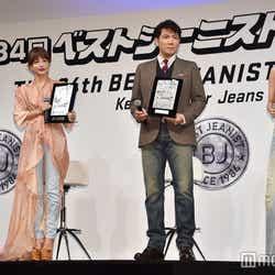(左から)滝沢カレン、梨花、別所哲也、菜々緒 (C)モデルプレス