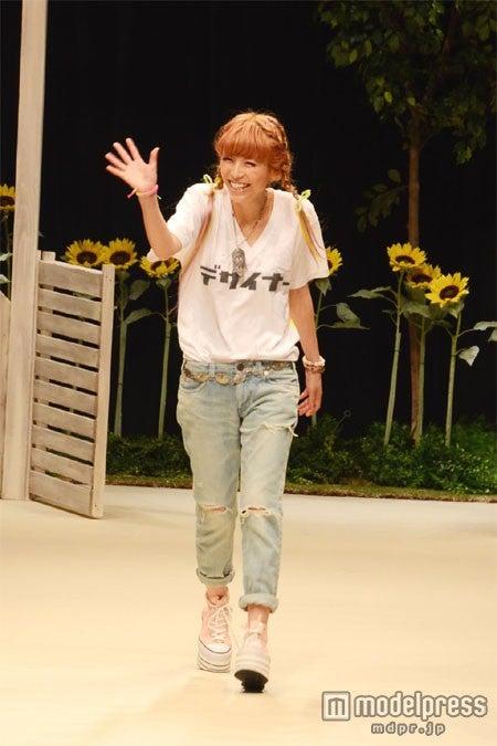 デザイナーとして「メルセデス・ベンツファッションウィーク東京2013 S/S」に初参加した若槻千夏