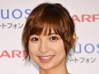 篠田麻里子、記者の質問に慌てる「いやいや…」