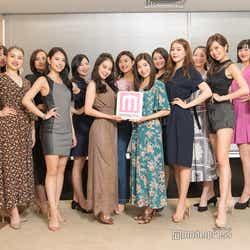 「2019 ミス・ジャパン」東京大会の最終選考会参加者(一部)/(C)モデルプレス