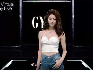 E-girls楓、胸元&ウエスト大胆披露 圧巻のクールランウェイ<Tokyo Virtual Runway Live by GirlsAward>