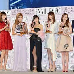 (左から)安藤美姫、ヨンア、ローラ、川島なお美、桐谷美玲、May J.、尾上松也