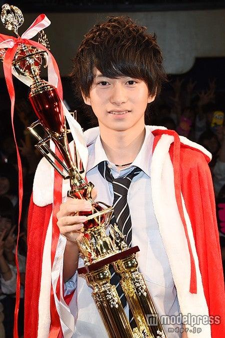 『関東高一ミスターコン2015』グランプリに輝いた、猿渡涼くん【モデルプレス】