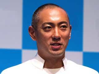 市川海老蔵、週刊誌の記者に「迷惑です」 取材班の動画を逆撮影