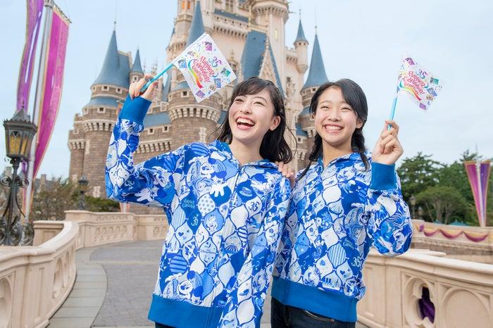 """東京ディズニーリゾート35th""""Happiest Celebration!""""グランドフィナーレのグッズ※着用イメージ (C)Disney"""