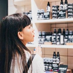 日本一の売り場面積「LUSH」新店舗に潜入 菅沼ゆりが魅力をレポート