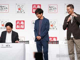 """TOKIO国分太一&松岡昌宏、""""社長""""城島茂の変化に驚き「本当に感無量です」"""