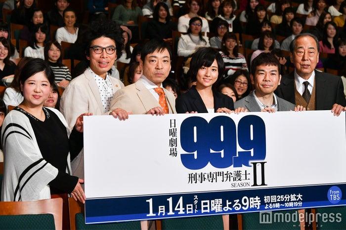 松本潤主演ドラマ「99.9-刑事専門弁護士- SEASONII」完成披露試写会より(C)モデルプレス