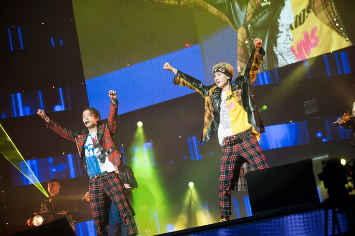 SUPER JUNIOR-D&E JAPAN TOUR 2018~STYLE~』日本武道館公演(写真:田中聖太郎写真事務所)