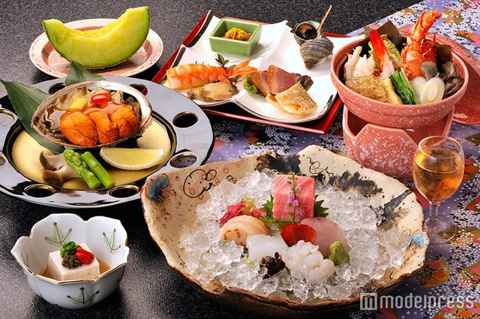 料理一例/画像提供:ホテル河鹿荘