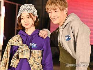 """「恋ステ」""""ともあい""""ともや&あいりカップル、仲良し密着ランウェイ<TGC teen 2020 Winter online>"""
