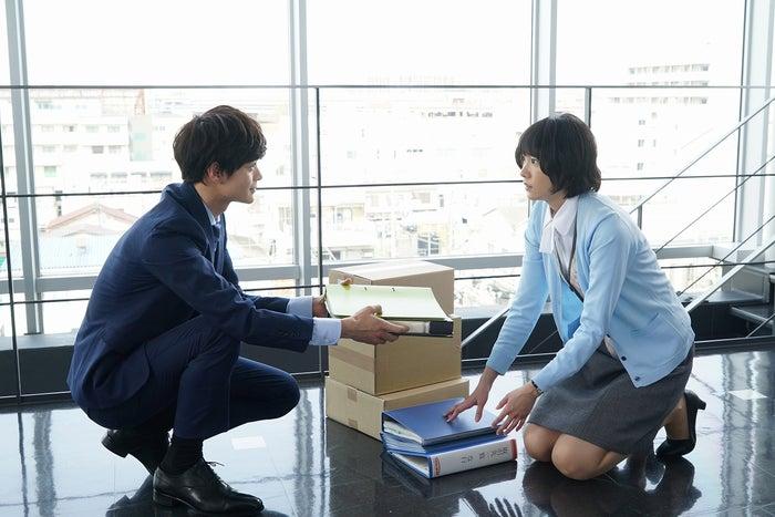 新垣結衣、瀬戸康史/劇中カット(C)2017『ミックス。』製作委員会