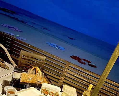 【小浜島】天然のプラネタリウムが見れる夜のビーチでロマンティックディナー!?