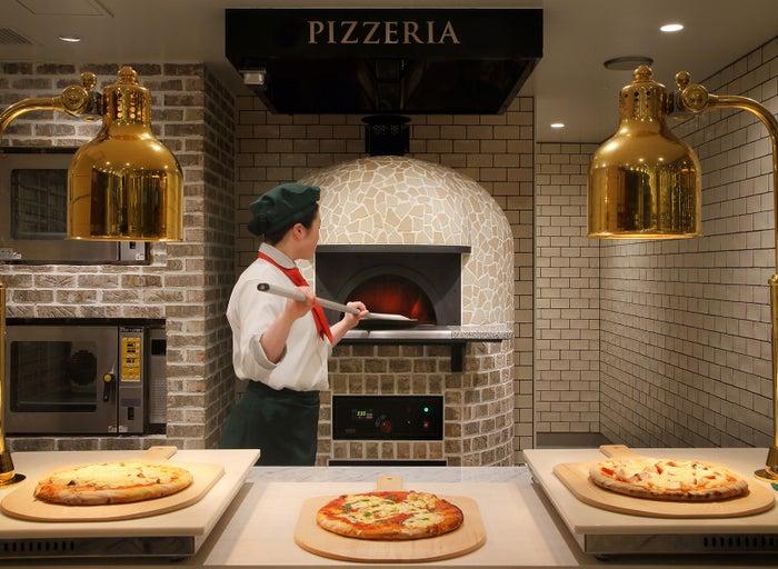ピザ窯/画像提供:あさやホテル