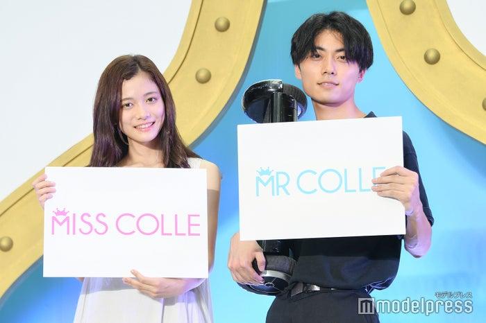 (左から)上田彩瑛さん、浅井匠さん (C)モデルプレス