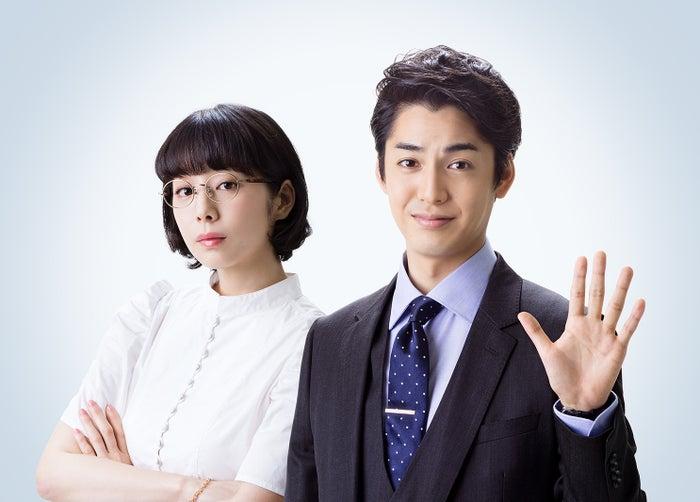 夏帆、大野拓朗(C)ドラマ「グッド・バイ」製作委員会
