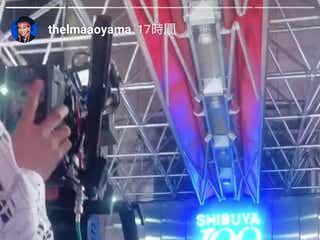 青山テルマ、パラパラブーム復活へ 渋谷109前のPV撮影メイキングを公開
