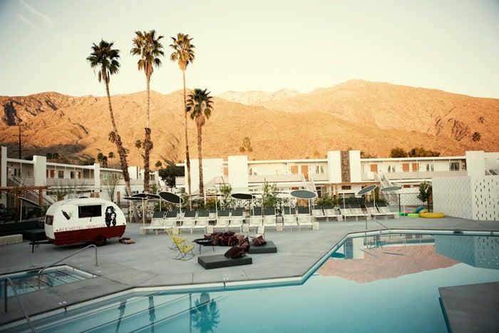 Ace Hotel Palm Springs/画像提供:NTT都市開発