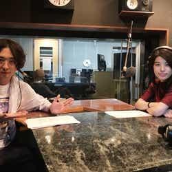 「渡部秀 アクターズ・レイディオ」にさとうほなみ(右)がゲスト出演(提供写真)