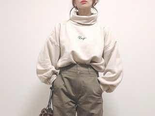 【UNIQLO】神パンツと話題の「カーブパンツ」で作る!美脚コーデ