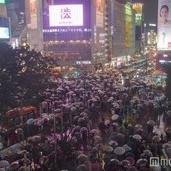 <ハロウィン>渋谷大パニック、厳戒態勢で警笛鳴り響く