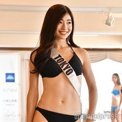 土屋太鳳の姉・炎伽さんら「2019 ミス・ジャパン」ファイナリスト、水着姿でウォーキングレッスン参加
