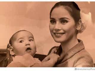 デヴィ夫人、27歳当時の写真公開「今も昔もお美しい」「東洋の真珠」