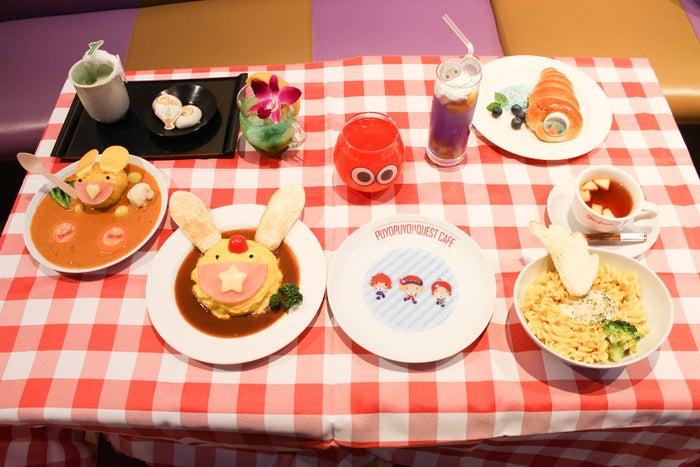 「ぷよクエカフェ」東京・大阪など全国4都市で開催 メニューはキャラクターをイメージ(提供写真)