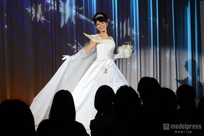 シンデレライメージのウェディングドレス