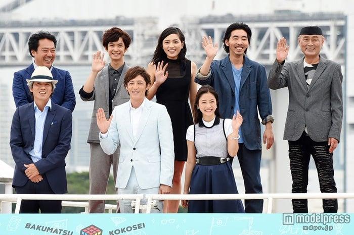 映画「幕末高校生」完成披露上映会の模様