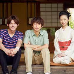 (左から)小瀧望、相葉雅紀、趣里(C)テレビ朝日