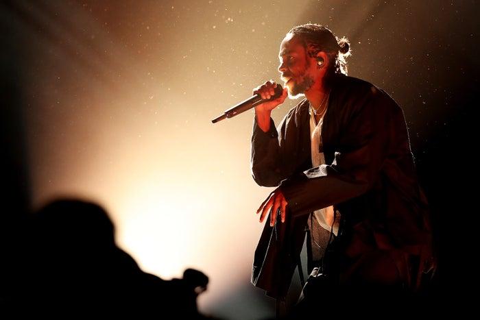 ケンドリック・ラマー/「第60回グラミー賞授賞式」より/photo:Getty Images