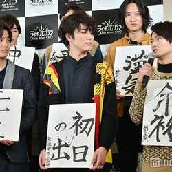 (左から)野村周平、間宮祥太朗、松田凌(C)モデルプレス