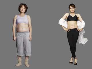 大神いずみ、5ヶ月で体重10.1kg減 「ライザップ」劇的ビフォーアフター