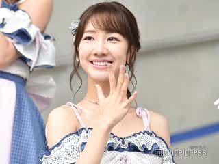 """AKB48柏木由紀、免許取得後初運転で「怖い思いをさせてしまいました」NMB48白間美瑠らが""""辛口評価""""<56thシングル「サステナブル」発売記念イベント>"""